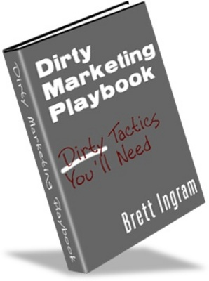 Product picture Dirty Marking Playbook - Make more money from your website